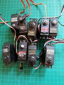 Radio Control Servos + horns