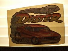 Rare Vintage DUSTER Iron On T-shirt Transfer  NOS