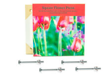 Square Traditional Flower Press Deluxe Wooden Kit Made Of Sturdy MDF Board
