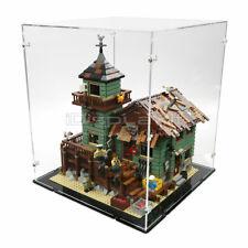 Acryl Vitrine für Lego 21310 Alter Anglerladen - Neu