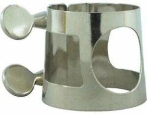 Carmichael Bb Clarinet Ligature - Nickel Ligature