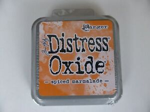 *NEW* (Ranger) TIM HOLTZ Distress OXIDE *Spiced Marmalade* (Full Sized Ink Pad)