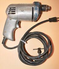 "Vintage Craftsman Sears Corded Drill 315.11140 1/4"" Decor Tool Bit Rare Lot"