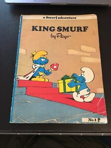 A Smurf Adventure Picture Book No 1 'King Smurf'