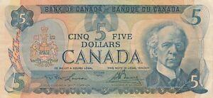 Canada 5 Dollar 1979 Banknote P92a Lawson Bouey