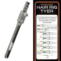 NGT Hair Rig Hook Tying Tyer Tool Carp Fishing Tackle Braid Hair Rigs Pop Ups