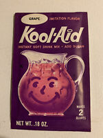 Vintage 1970s Kool-Aid Pack NOS Packet Sealed Grape General Foods Drink