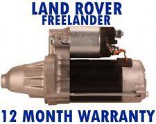 LAND ROVER - FREELANDER (LN) 1.8 16V 4X4 SOFT TOP 1998 - 2006 RMFD STARTER MOTOR