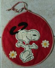 PEANUTS Snoopy Simon Simple Vintage 1971 Pajama Bag RARE!