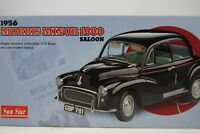 1:12 SUNSTAR Sun Star #4781-1956 Morris Minor 1000 Saloon Negro - Rareza§