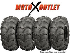 ITP Mudlite XL ATV Tires 27x9-12 and 27x10-12 set of 4 Mud Lite 27x9x12 27x10x12