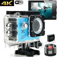 Full HD Waterproof WiFi Sport Action Camera 1080P 4K Travel Camcorder Cam DVR