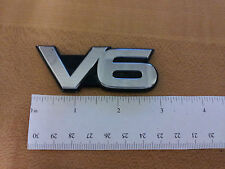Mazda V6 Rear Trunk 2 3/4 Emblem Badge