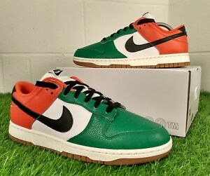Nike Dunk Low By You Custom 1 Of 1 Size UK 9 EU 44 2021 'Ireland' Green Trainers