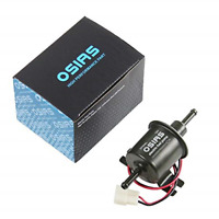 OSIAS Universal 12V Low Pressure Heavy Duty Gas Diesel Inline Electric Fuel Pump