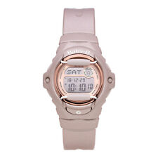 Casio Baby-G BG169G-4 Women's Rose Gold Accent Pink Champagne Band Digital Watch