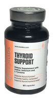 LES Labs Thyroid Support, Natural Supplement - 60 capsules - exp 4/21