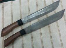 Damascus FILIPINO Machete Pair, knife king's hand made machete