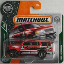 Matchbox Ford Expedition rot Neu/OVP SUV Auto Car Geländewagen Mattel MBX Allrad