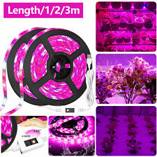 Waterproof LED Grow Light Strip Full Spectrum Lamp for Indoor Plant Veg Flower