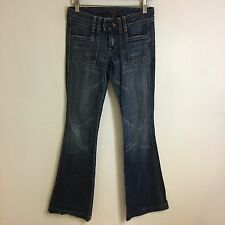Seven 7 For All Mankind Jeans -Bootcut Dark Wash- Tag Size: 24 (28x31.5) - #1634