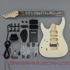 Bargain Musician - GK-027L - Left Hand DIY Unfinished Project Luthier Guitar Kit