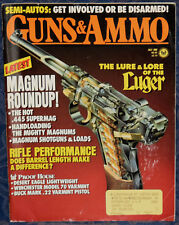 Magazine GUNS & AMMO July 1989 DAN WESSON SuperMag .445 REVOLVER Old Model LUGER