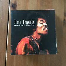 JIMI HENDRIX - PARIS JAN 29TH 1968 EXPERIENCE - CD NO LABEL