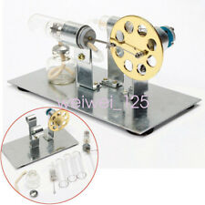 New Stirling Engine Motor Model Mini Hot Air Steam Power Toy Physics Experiment