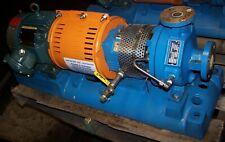 Goulds 5 Hp Di316ss Centrifugal Pump 1x15 6 230460 Vac Model 3196 8 Gpm