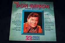 DON GIBSON LP DON GIBSON COUNTRY NUMBER ONE ''STEREO'' VG/CONDITION