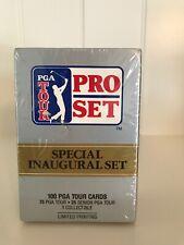 Unopened / Sealed PGA Tour Pro Set Special Inaugural Set (101 Golf Cards)