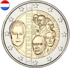 * LOT DE 5 PIECES - 2 EURO COMM - UNC - LUXEMB 2015 - 125 ANS DYNASTIE