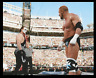 Sting Vs Triple H Wrestlemania Wrestling Photo 8x6 Inch WWF WCW Photograph