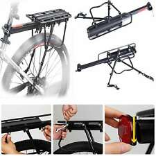 Bicycle Mountain Bike Rear Pannier Rack Alloy Seat Post Mount Luggage Carrier AU
