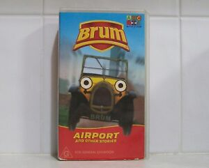 VHS Videotape - BRUM - Airport and Other Stories ABC For Kids video