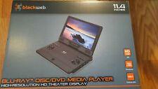 "Blackweb 11.4"" Blu-Ray DVD Media Player High Resolution HD Theater Display"