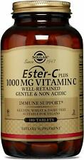 Solgar Ester-C Plus 1000mg Highly Absorbable Dietary Supplement 180 Tablets