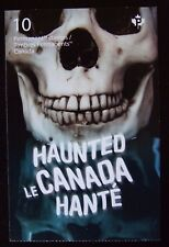 Haunted Canada 2016 Domestic Stamp set of 10 Booklet Halloween