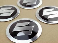 "4X ""S"" Logo Tank Fairing Emblem Decals For Suzuki Car Body Stickers Motorcycle"
