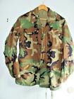 USGI M-65 Field Jacket Small Long Woodland Camo BDU Cold Weather Army Coat