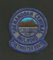 "SHENANDOAH CENTRAL RAILROAD    RAILROAD PATCH 2 "" *"