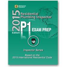 P1 ICC Plumbing Inspector Exam Practice Questions Test Workbook 2015