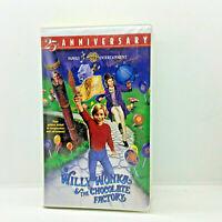 Willy Wonka & The Chocolate Factory VHS 1996  25th Anniv. Edition Gene Wilder
