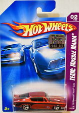 Hot Wheels 2008 equipo Volkswagen VW Beetle Cup #02/04 amarillo