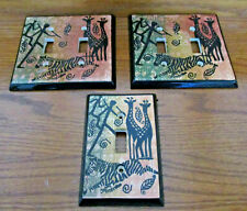African Night Light Switches, Ceramic, Excellent condition never used