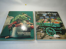 2 livres anciens tupperware collection collector 1978 et 1968 raymond oliver