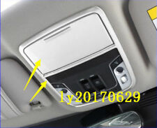 2x ABS Chrome Interior Front Reading Light Cover trim For Honda Accord 2018