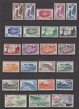 St. Pierre Et Miquelon - SG 361/84 - l/m - 1947/52 - 10c - 200f (24 stamps)