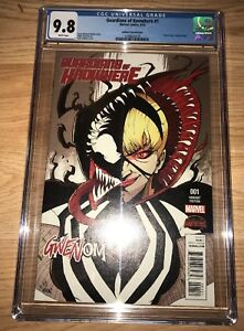 RARE GUARDIANS OF KNOWHERE #1 GWENOM VARIANT 1st App CGC 9.8 SEE MY OTHERS!